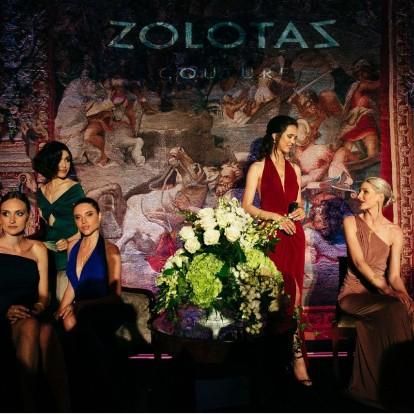 Στη μαγευτική παρουσίαση της νέας συλλογής Couture του οίκου Zolotas