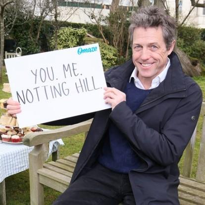 O Hugh Grant επιστρέφει στο Notting Hill για ένα απίθανο pic nic κάλεσμα