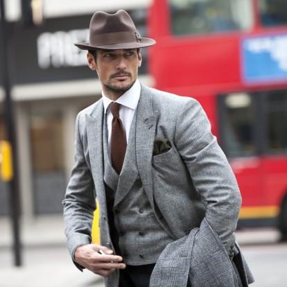 Male chic: Ο David Gandy είναι πρότυπο ανδρικής κομψότητας