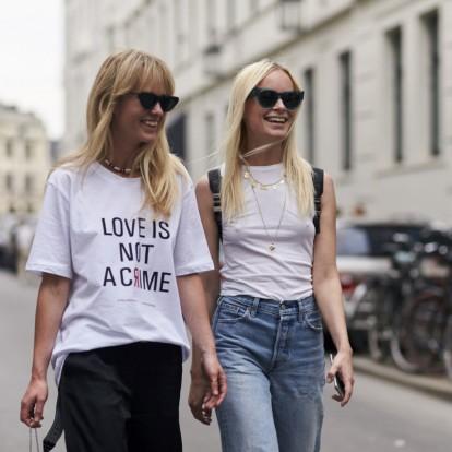 Logo trend: εκφραστείτε μέσα από τα πιο stylish t-shirts