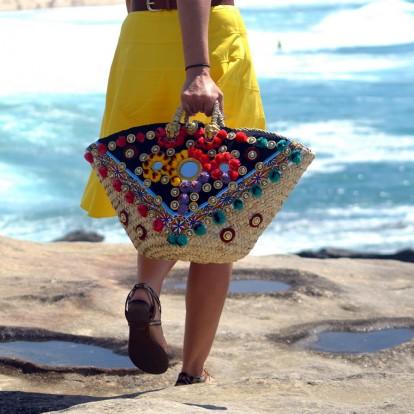 Πλεκτές τσάντες: τα πιο αγαπημένα σχέδια και πώς να τα συνδυάσετε