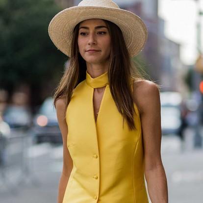 Ψάθινα καπέλα για κομψές εμφανίσεις ακόμα και στην πόλη