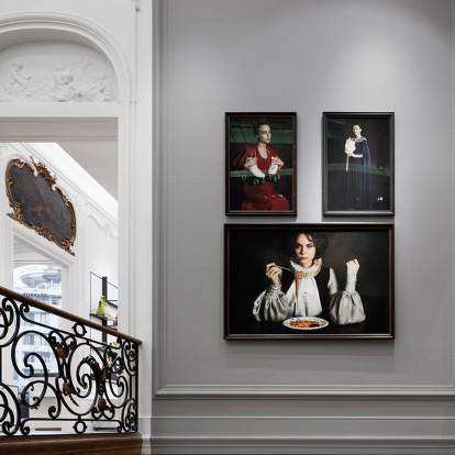 Ένα πολυτελές αρχοντικό στις Βρυξέλλες μετατράπηκε σε boutique Delvaux