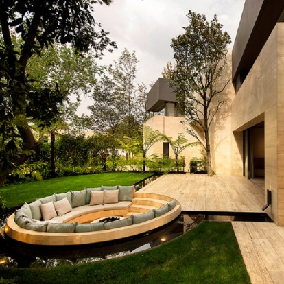 Μια family-friendly κατοικία στο Μεξικό γεμάτη από το στοιχείο της φύσης
