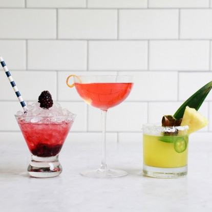 3 summer cocktails για να φτιάξετε μόνοι σας