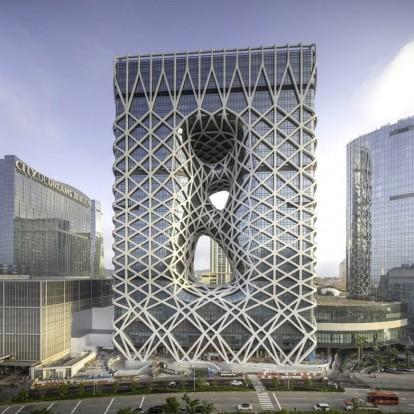 Το γραφείο Zaha Hadid Architects παρουσιάζει το εντυπωσιακό Morpheus Hotel