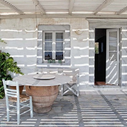 Το υπέροχο σπίτι της Monique Μailloux είναι το όνειρο μιας δημιουργικής ζωής