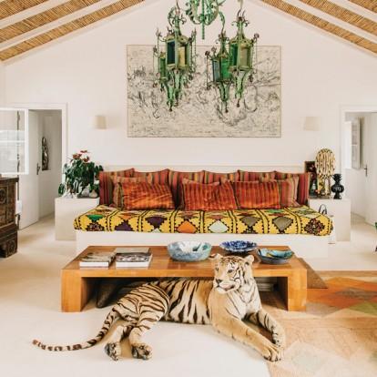 To beach house του Louboutin στην Πορτογαλία είναι η μεγάλη του αγάπη
