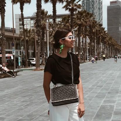 Ελένη Ντόκου: Όταν τo street style συναντά τον κόσμο της ομορφιάς