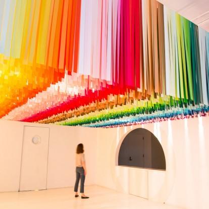 Ένα μουσείο στη Νέα Υόρκη υμνεί τη δύναμη των χρωμάτων