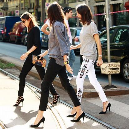 Φορέστε τα μαύρα jeans όπως οι Γαλλίδες