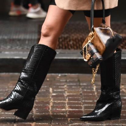 Cowboy Boots: φορέστε τες όπως τα κορίτσια της μόδας