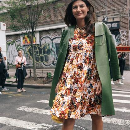 Giovanna Battaglia: Pregnancy στιλιστικά μαθήματα από το fashion icon