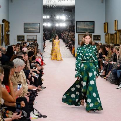Carolina Herrera Spring 2019 show: Ωδή στη θηλυκότητα