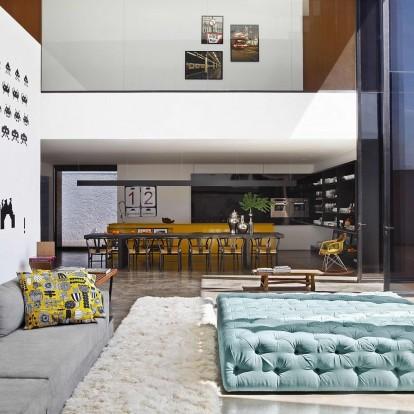 Ένα παραμυθένιο σπίτι στη Βραζιλία που θυμίζει Λος Άντζελες