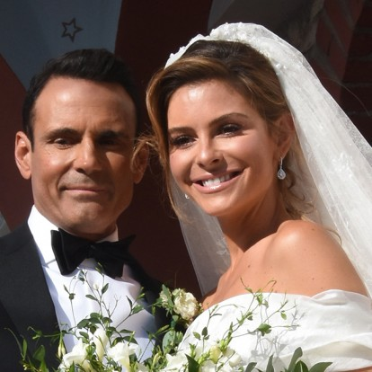 Ο γάμος αλά ελληνικά της Maria Menounos στο χωριό του πατέρα της