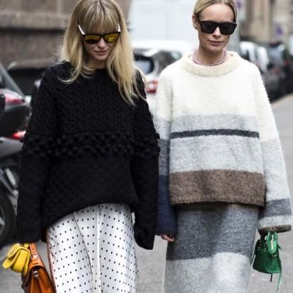 Look of the week: Πώς να φορέσετε το πουλόβερ τον χειμώνα