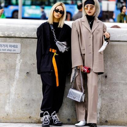 Μαθήματα streetwear styling από τα κορίτσια της Ασίας