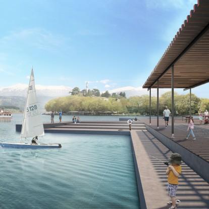 Μια ξεχωριστή πρόταση ανάπλασης του παραλίμνιου μετώπου στα Ιωάννινα