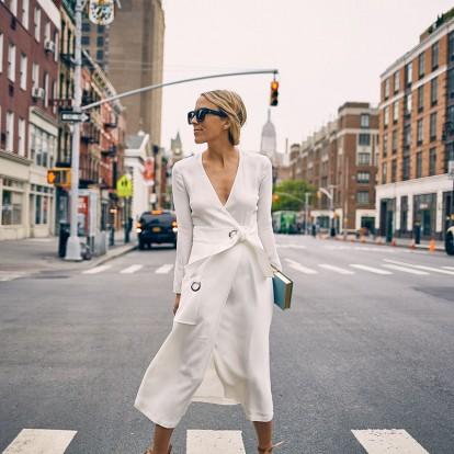 4 τρόποι για να φορέσετε το διαχρονικό wrap dress