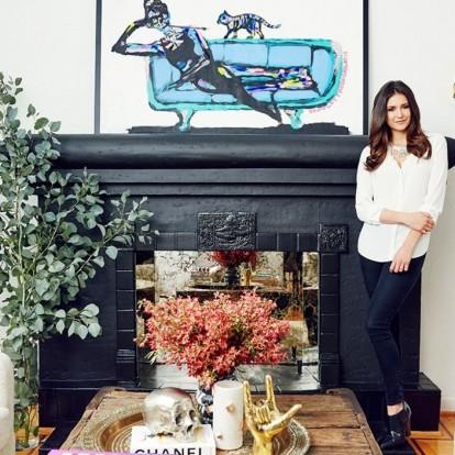 Περιηγηθείτε στο cozy σπίτι της ηθοποιού Nina Dobrev