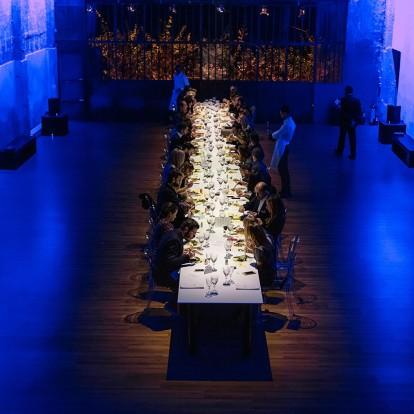 Το εορταστικό Hermès private dinner με παιχνιδιάρικη διάθεση άφησε εποχή