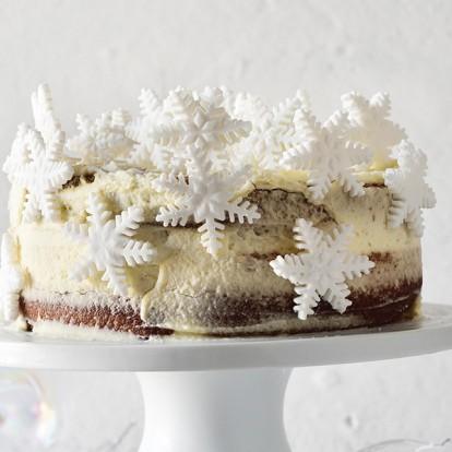 Χριστουγεννιάτικες συνταγές για λαχταριστά, λευκά γλυκά