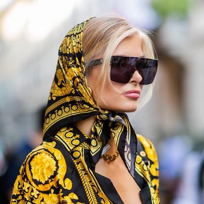 The scarves way: Πως φοράνε τα μαντήλια τα αστέρια του instagram