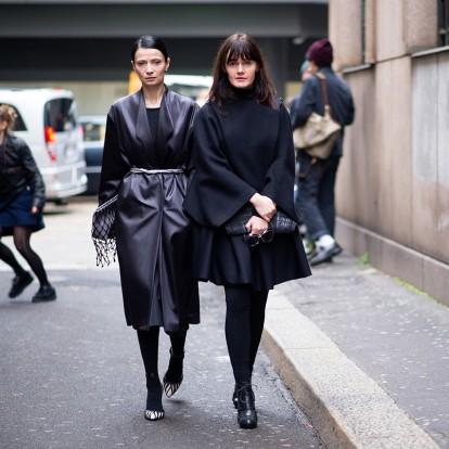 Total black looks για τον φετινό χειμώνα που πρέπει να δοκιμάσετε