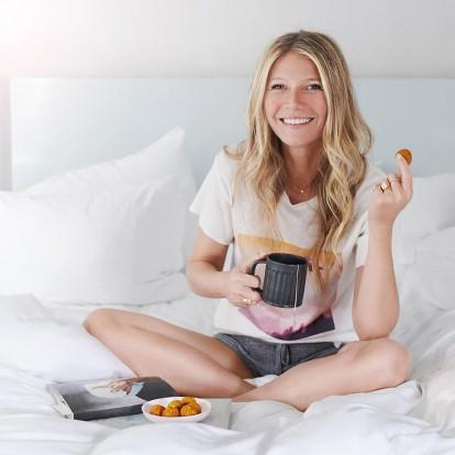 Το 24ωρο πλάνο διατροφής της Gwyneth Paltrow