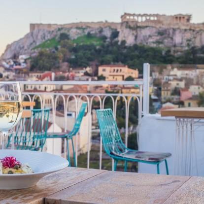 Υπέροχα στέκια στην Αθήνα με μαγευτική θέα στην Ακρόπολη