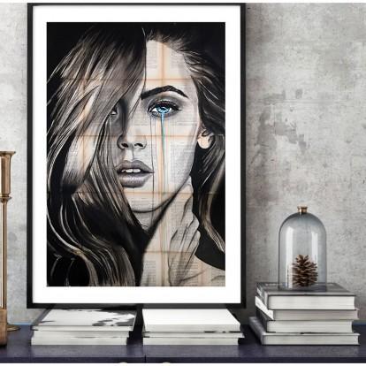 Ο Έλληνας καλλιτέχνης που ζωγραφίζει τα συναισθήματα των γυναικών σε σελίδες