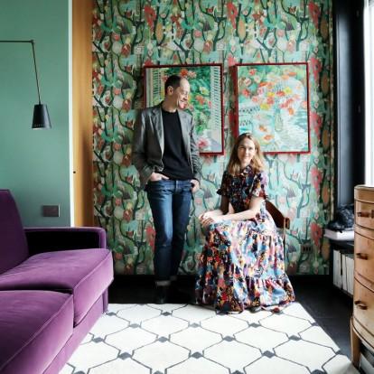 H designer JJ Martin αποτυπώνει το στιλ της στο σπίτι της στο Μιλάνο