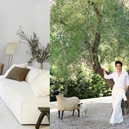 Η μητέρα της Kim Kardashian μας ξεναγεί στο πολυτελές σπίτι της