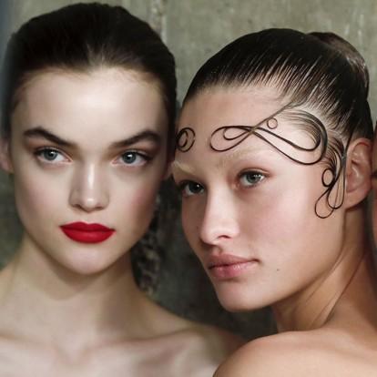 Η Εβδομάδα Μόδας του Λονδίνου χάρισε άφθονη beauty έμπνευση
