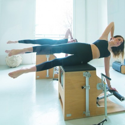Είδα το σώμα μου ν' αλλάζει με το ασκησιολόγιο της μεθόδου Basi Pilates