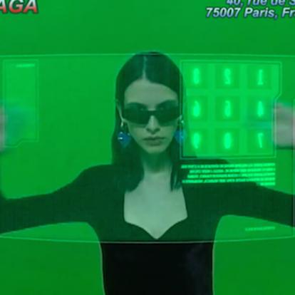Η Matrix-style καμπάνια του οίκου Balenciaga