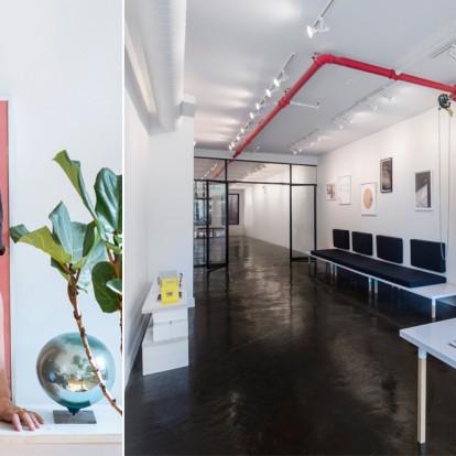 H Lydia Xynogala σχεδίασε ευρηματικά έναν πολυχώρο τέχνης στη Νέα Υόρκη