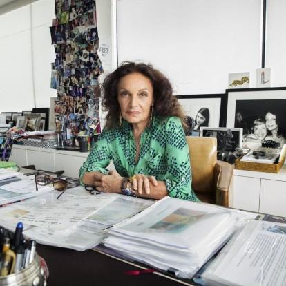 Η νέα έκθεση της Diane von Furstenberg υμνεί τις γυναίκες