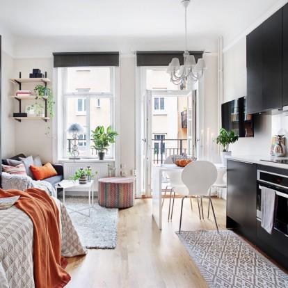 Κι όμως το σπίτι των ονείρων σας χωράει σε ένα one-bedroom flat
