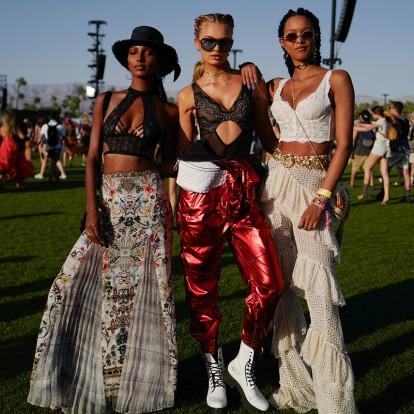 Μαθήματα boho styling από τις παρευρισκόμενες στο Coachella Festival