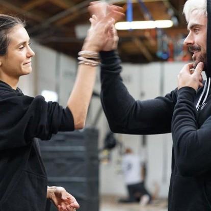 Ο Zac Efron και η Nina Dobrev σε έναν αγώνα γυμναστικής που θα σας ενθουσιάσει