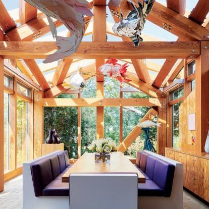 Στο ονειρεμένο σπίτι του περίφημου αρχιτέκτονα Frank Gehry στη Santa Monica