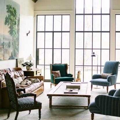 Πρωταγωνίστρια της σειράς Grace & Frankie μας ξεναγεί στο ρουστίκ σπίτι της