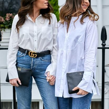 Λευκό πουκάμισο: Πώς θα φορέσετε το απόλυτο key item την άνοιξη