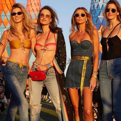 Coachella: Οι 5 jeans τάσεις που θα βρίσκονται σε λίγο παντού γύρω σας