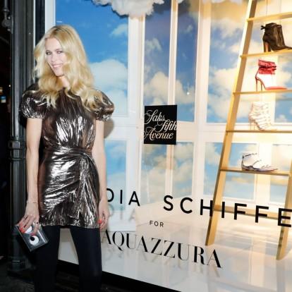 H παρουσίαση της συλλογής Claudia Schiffer x Aquazzura