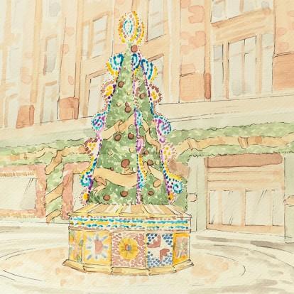 Χριστουγεννιάτικη μαγεία με τη συλλογή των Dolce & Gabbana για το Harrods