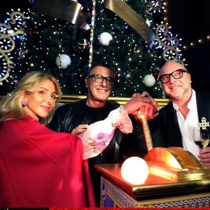 Οι Dolce & Gabbana μεταμορφώνουν τα Harrods του Λονδίνου για μια βραδιά