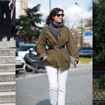 Πείτε ναι στα white jeans τον χειμώνα